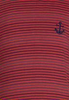 See-Saw - T-shirt with Embroidery Red