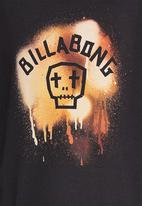 Billabong  - Made For Livin Images SS Tee Black