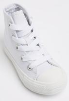 SOVIET - Viper Hi Cut Canvas Sneaker White