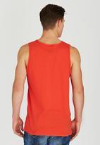 Fox - Union Vest Dark Red