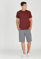 Fox - Fractured T-Shirt Dark Red