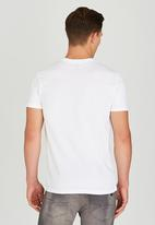 POLO - Crew neck tee - white