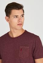 Polo Jeans Co. - Pocket Slub T-Shirt Red
