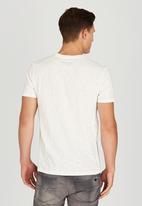 Polo Jeans Co. - Printed Slub T-Shirt White