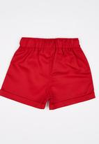 See-Saw - Twill Shorts Red