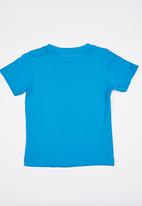 POP CANDY - Boys  Printed  Tee Mid Blue