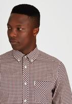 Ben Sherman - Long Sleeve Shirt Dark Red