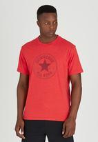 Converse - Short Sleeve Crew Tee Red