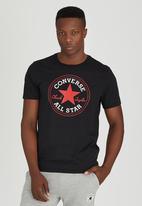 Converse - Short Sleeve Core Tee Black