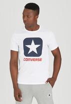 Converse - Short Sleeve Tee White
