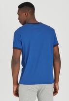 Converse - Short Sleeve Tee Mid Blue