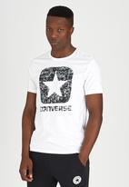 Converse - Short Sleeve Box Star Tee White