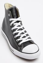 Converse - Chuck Taylor Leather Hi Sneakers Black