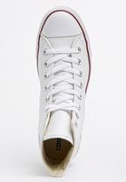 Converse - Chuck Taylor Leather Hi Sneakers White