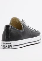 Converse - Chuck Taylor Leather Lo Sneakers Black
