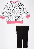 Converse - French Terry Tunic Mid Pink