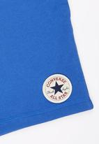 Converse - Slim Fit Short Mid Blue
