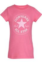 Converse - All Star  Tee Mid Pink