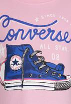 Converse - Classic Chucks Tee Mid Pink