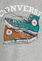 Converse - Mix Match Chucks  Tee Grey
