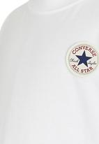 Converse - Left Chest Tee White