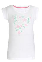 GUESS - Flower Triangle White