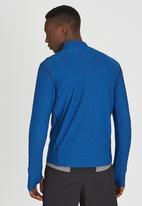 Lithe - Splinter Spandex Long Sleeve Blue