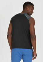 Lithe - Muscle Spandex Vest Black