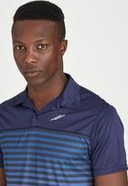 Lithe - Sublimated Stripe Golfshirt Multi-colour