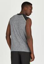 Lithe - Muscle Spandex Vest Grey