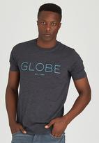 Globe - Short SleeveT-Shirt Grey
