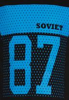 SOVIET - Printed Tee Black