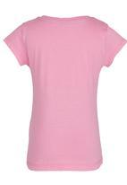 GUESS - Printed Flower  Tee Mid Pink