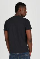 Alpha Industries - Flying a Foil T-Shirt Black