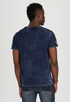 Alpha Industries - Mortar T-Shirt Blue