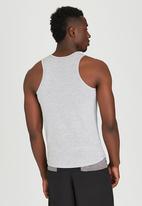 Lithe - Cotton Vest Grey