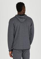 Lithe - Sweatshirt Hoody Dark Grey