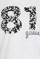 GUESS - Logo  Tee White