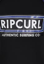 Rip Curl - Authentic Rashvest Black