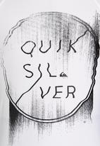 Quiksilver - Thugg Life Boys Rashvest White