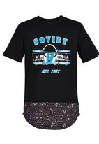 SOVIET - Boys Printed Tee Black