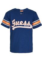 GUESS - Printed  Tee Blue