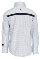 SOVIET - Printed Shirt White