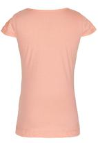 GUESS - Embellished  Logo Tee Coral