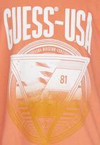GUESS - Printed Tee Orange