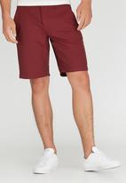 RVCA - Week-End Hybrid Shorts Dark Red