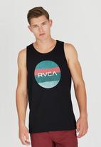 RVCA - Session Motors Tank Black