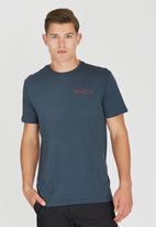 RVCA - Double Rope RVCA T-Shirt Blue