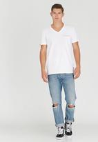 Rip Curl - Sergeant V-Neck T-Shirt White