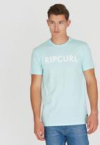 Rip Curl - Plain T-Shirt Blue
